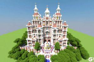 """美到""""骨头""""里的古迹《我的世界》内部比外面华丽两倍的建筑"""