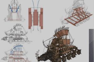 新的视觉盛宴,《列王的纷争-起源》艺术设定集!
