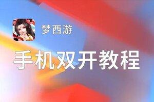 梦西游双开挂机软件推荐? 怎么双开梦西游详细图文教程