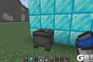 《我的世界手游》隐藏门怎么做 炼药锅隐藏地下室制作方法介绍