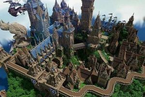 青出于蓝而胜于蓝 大神在《我的世界》复原的建筑更胜原版