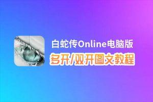 白蛇传Online怎么双开、多开?白蛇传Online双开助手工具下载安装教程