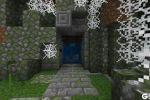 """《我的世界》中世纪风格的豪华""""山洞""""当然要配中世纪的大门!"""