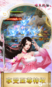 暗黑修仙(超V版)游戏截图-4