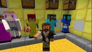 我的世界Minecraft《籽岷的1.12双人 幸运方块找按钮》