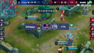 2017KPL季后赛 QGhappy vs YTG 第3场
