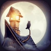 猫头鹰和灯塔游戏图标