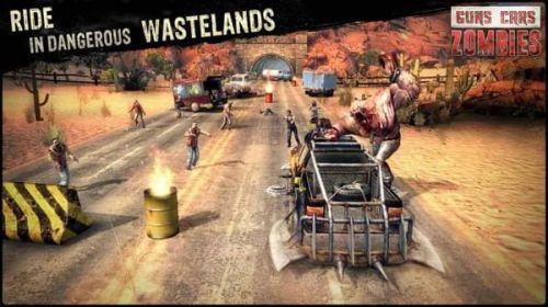 枪械跑车僵尸游戏截图-4