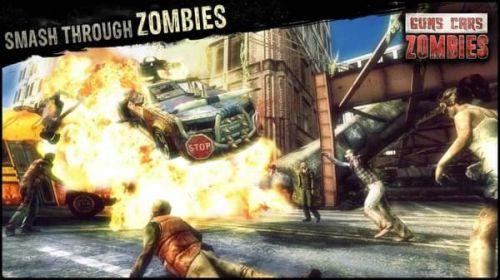 枪械跑车僵尸游戏截图-2