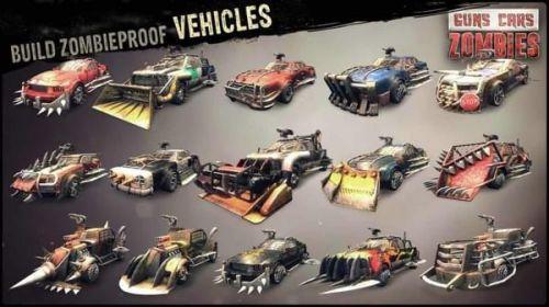 枪械跑车僵尸游戏截图-1