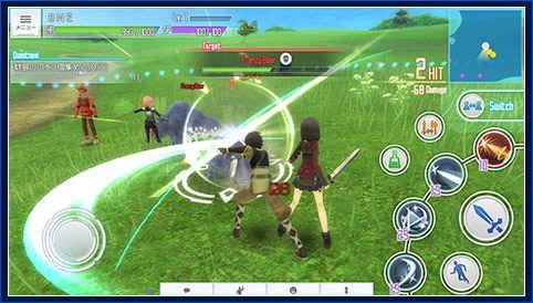 刀劍神域:關鍵斗士游戲截圖-0