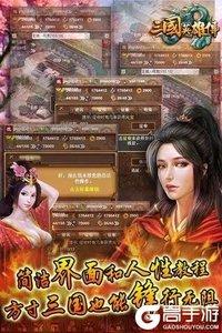 三國英雄傳安卓版游戲截圖-3