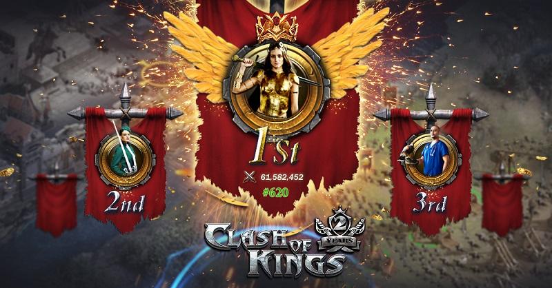 《列王的纷争》全新皇家角斗场引爆全球亿万玩家PK