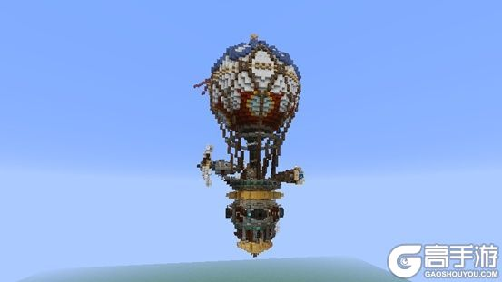这种热气球只能在我的世界实现