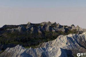 《我的世界》大自然要千万年才能形成的地形 大神花三个月建成
