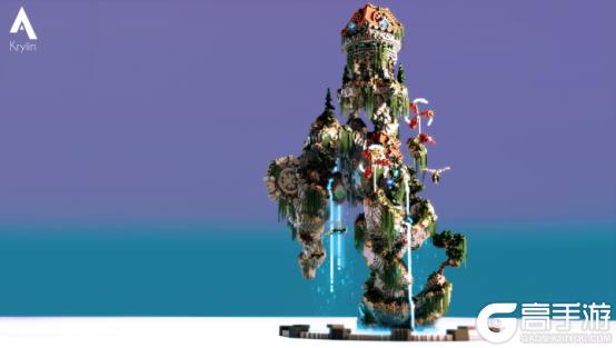 《我的世界》的最強夢想改造家 短短三天一次直接改造一座島